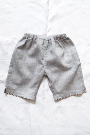 Makie: Luxurious Pants - Gray. Top.