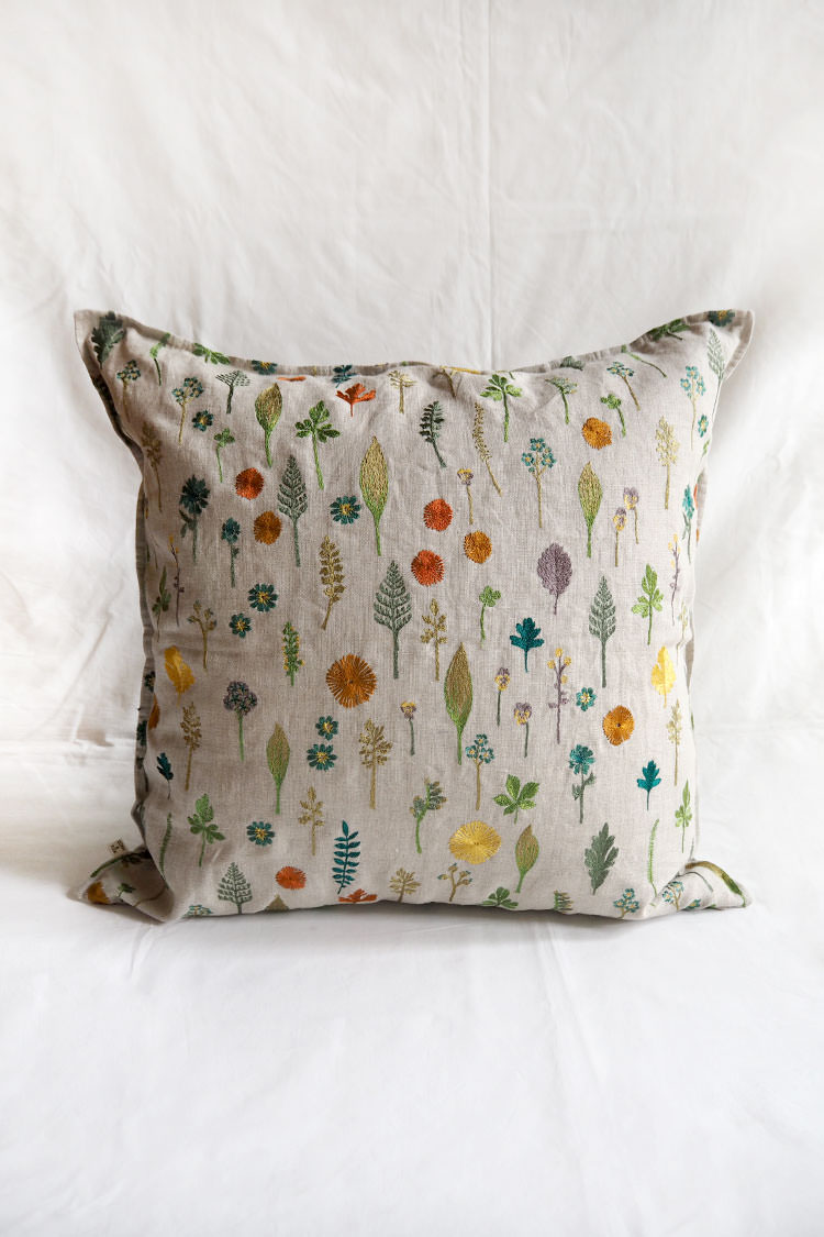 "Coral & Tusk ""Garden Pillow/Cushion"" Top."