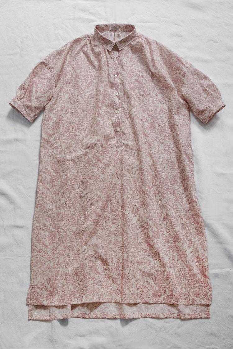 Makie Original Dress Janet, Liberty Fabric Red Flower