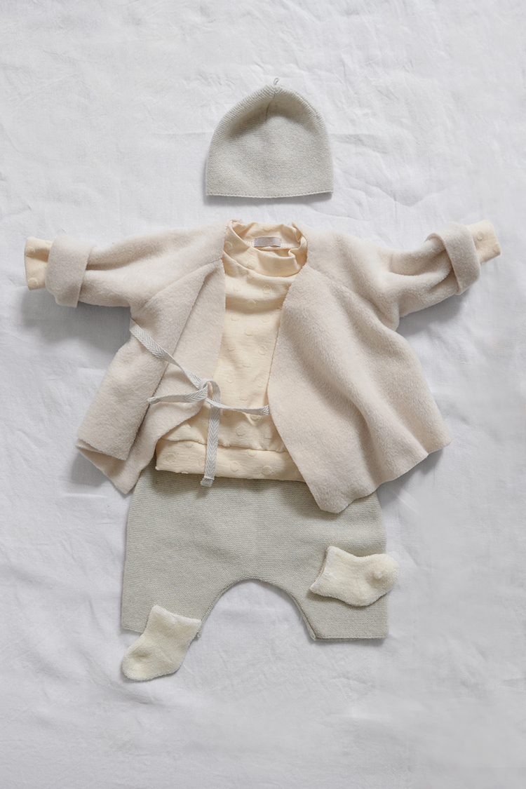 Makie Baby Set #14, Luxury baby shower gift. Top