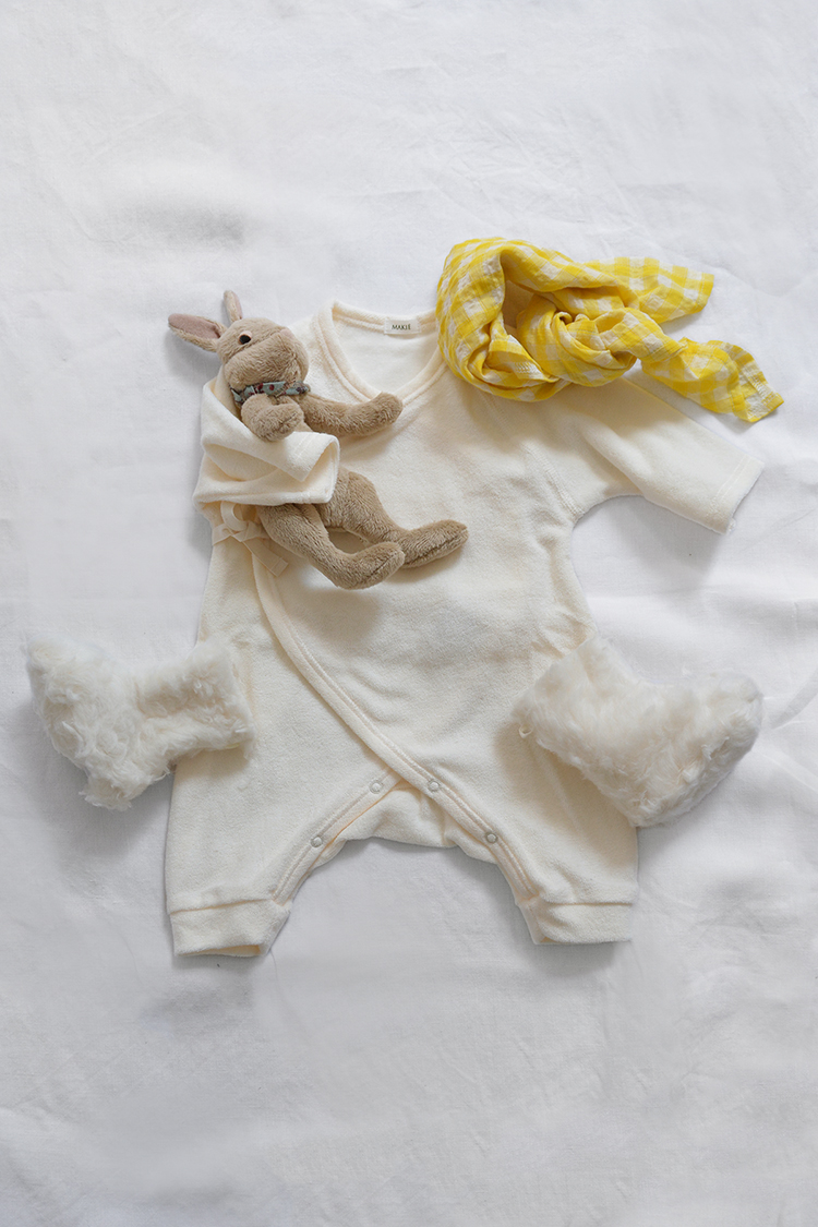 Makie: Baby Set #16, a perfectly unique baby gift set. Top