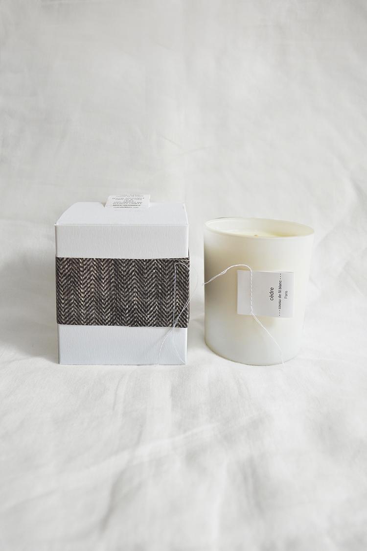 Cousu de fil Blanc, Candle