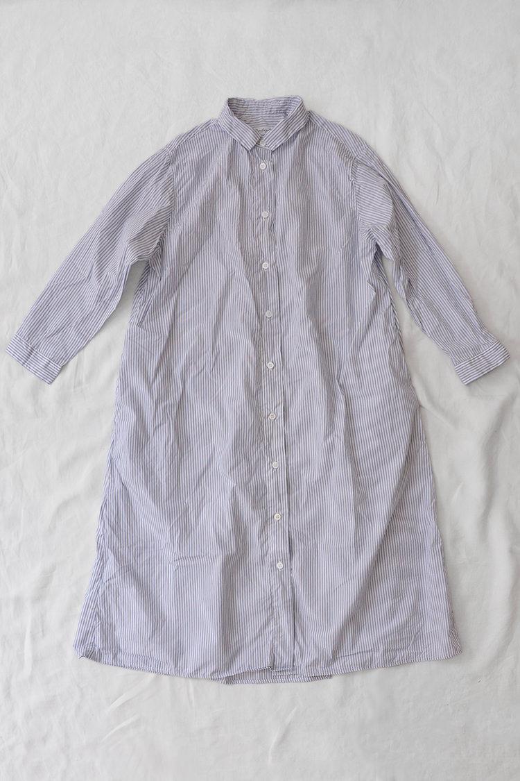 Bergfabel, Shirt Dress, Dark Stripe.