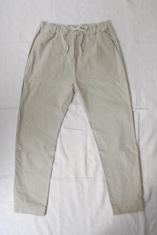 album di famiglia velvet new basic trouser