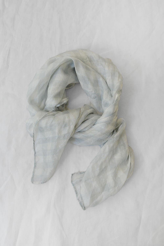 manuelle guibal silk scarf